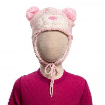Шапка BRETHE (нежно-розовый)Одежда<br>Материал<br>Верх: 50% шерсть, 50% акрил<br>Подкладка: флис<br>Утеплитель:  нет<br>Описание<br> Ветрозащитные вставки на ушах.<br>Производитель: Kerry (Финляндия)<br>Страна производства: Евросоюз (основная часть коллекции производится в Эстонии)<br>Коллекция: Осень/Зима 2017-2018<br>Модель производится в размерах: 46-52<br>От 0 до -20; Размеры в наличии: 46, 48, 50, 52.<br>