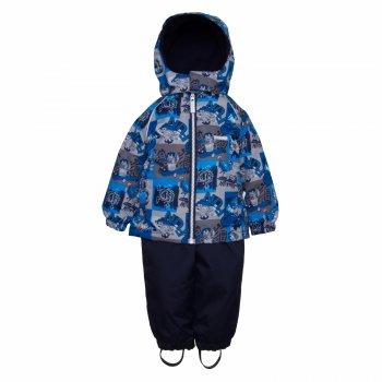 Комплект MONTY (синий)Комбинезоны<br>Описание<br>Функциональные элементы: <br>Характеристики<br>Верх: ткань Active (100% полиамид+ 100 % полиэстер)<br>Подкладка: 100% полиэстер<br>Утеплитель: куртка - 80 грамм (100% полиэстер), брюки - 45 грамм (100% полиэстер)<br>Водонепроницаемость: 5000 мм<br>Паропроводимость: 5000 г/м2/24ч<br>Производитель: Kerry (Финляндия)<br>Страна производства: Евросоюз (основная часть коллекции производится в Эстонии)<br>Модель производится в размерах: 80-98<br>Коллекция: Весна/Лето 2018<br>Температурный режим<br>От 0 градусов и выше; Размеры в наличии: 80, 86, 92, 98.<br>