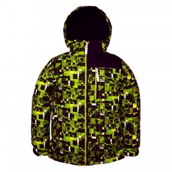 Куртка TYLER (зеленый с принтом)Куртки<br>Описание<br>Функциональные элементы: <br>Характеристики<br>Верх: ткань Active (100% полиамид)<br>Подкладка: флис (100 % полиэстер)<br>Утеплитель:  80 грамм (100% полиэстер)<br>Водонепроницаемость 5000 мм<br>Паропроводимость: 5000 г/м2/24ч<br>Производитель: Kerry (Финляндия)<br>Страна производства: Евросоюз (основная часть коллекции производится в Эстонии)<br>Модель производится в размерах: <br>Коллекция: Весна/Лето 2018<br>Температурный режим<br>От 0 градусов и выше; Размеры в наличии: 140, 146, 152, 158, 164, 170.<br>