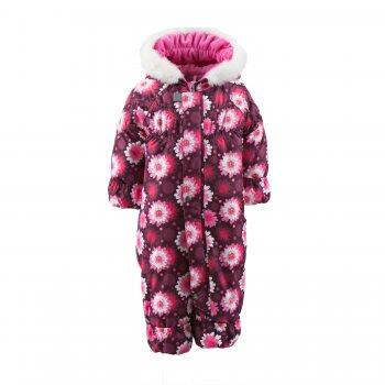 Купить Комбинезон для малышей Rosie (бордовый с цветами), Kerry