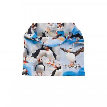 Шарф-манишка POP (голубой с птичками)Одежда<br>Описание<br>Функциональные элементы: <br>Характеристики<br>Верх: 92% хлопок, 8% эластан<br>Производитель: Kerry (Финляндия)<br>Страна производства: Евросоюз (основная часть коллекции производится в Эстонии)<br>Модель производится в размерах: <br>Коллекция: Весна/Лето 2018<br>Температурный режим<br>От +7 градусов и выше; Размеры в наличии: 1.<br>