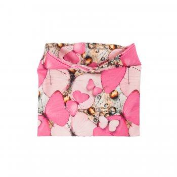 Купить Шарф-манишка POP (розовый с бабочками), Kerry