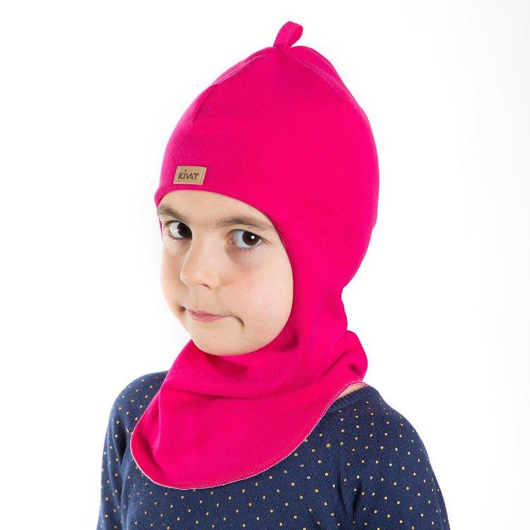 Шлем (фуксия)Одежда<br>Материал<br>Верх: 97% хлопок, 3% лайкра<br>Подкладка: 97% хлопок, 3% лайкра<br>Описание<br>Ультрамодные и удобные весенние шлемы Kivat на температуру от 0 до + 10 градусов. Фирменный детский шлем Kivat сядет на голову ребенка плотно и комфортно, он не будет «сползать» на глаза или «открывать» уши. Широкий спектр цветов, узоров, аппликаций и формы позволит точно подобрать модель для ребенка и под дизайн его одежды.<br>Шапки Киват сделаны из высококачественных натуральных материалов. Изделие прочное в носке и легкое в уходе. Отличная посадка по голове и оригинальный дизайн. <br>Производитель: Kivat (Финляндия)<br>Страна производства: Финляндия<br>Коллекция: Весна/Лето 2017<br>Модель производится в размерах: 0 (0-1 год), 1 (1-2 года), 2 (2-5 лет), 3 (5-10 лет), 4 (10-15 лет)<br>Температурный режим<br>От 0 градусов и выше; Размеры в наличии: 0, 1, 2, 3, 4.<br>