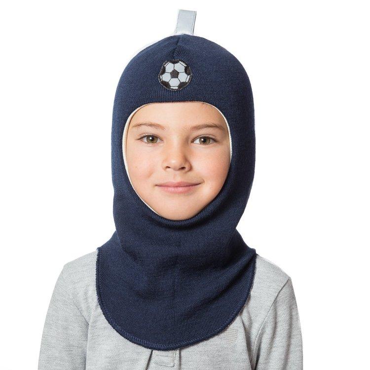 Шлем (темно-синий с футбольным мячом)
