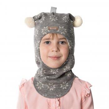 Купить Шлем (серый со снежинками), Kivat