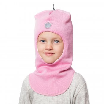 Купить со скидкой Шлем (розовый с короной)