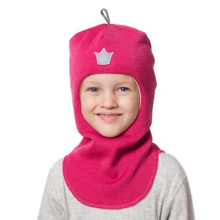 Шлем (розовый с короной)