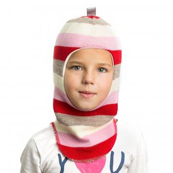 Шлем (бело-розовая полоска)Одежда<br>Материал<br>Верх: 100% шерсть<br>Подкладка: 100% хлопок<br>Описание<br>Шлемы Киват очень теплые и подойдут на самые лютые морозы. Специальные вставки с утеплителем в области ушек и лба. Отличная посадка по голове и оригинальный дизайн. Светоотражающие вставки для безопасности. <br>Производитель: Kivat, Финляндия<br>Страна производства: Финляндия<br>Коллекция Осень/Зима 2016<br>Температурный режим<br>От 0 до -20 градусов; Размеры в наличии: 1, 2, 3, 4.<br>