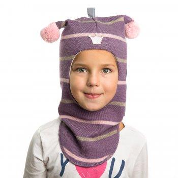 Шлем (фиолетовый в полоску)Одежда<br>Описание<br>Шлемы Киват очень теплые и подойдут на самые лютые морозы. Специальные вставки с утеплителем в области ушек и лба. Отличная посадка по голове и оригинальный дизайн. Светоотражающие вставки для безопасности.<br>Характеристики: <br>Верх: 100% шерсть<br>Подкладка: 100% хлопок<br>Коллекция Осень/Зима 2017<br>Модель производится в размерах 0-3<br>Страна производства: Финляндия<br>Температурный режим<br>От 0 до -20 градусов; Размеры в наличии: 0, 1, 2, 3.<br>
