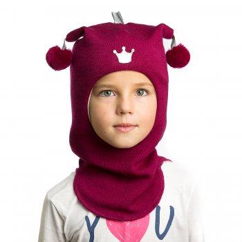 Шлем (бордовый с короной)
