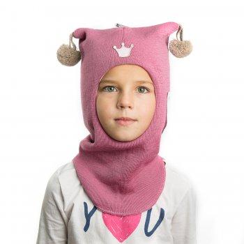 Kivat Шлем (темно-розовый с короной) kivat шлем малиновый с помпонами и короной