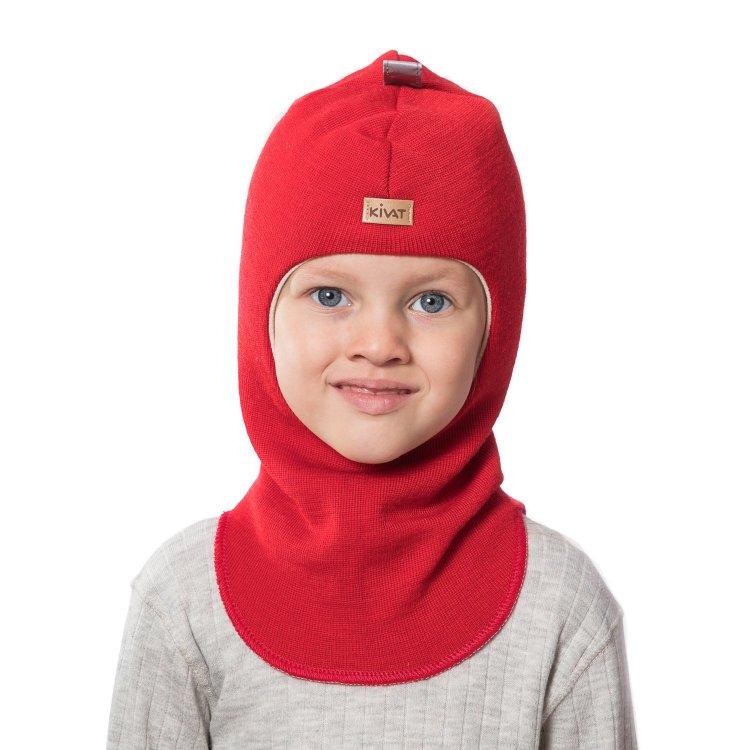 Шлем (красный)Одежда<br>Материал<br>Верх: 100% шерсть<br>Подкладка: 100% хлопок<br>Описание<br>Шлемы Киват очень теплые и подойдут на самые лютые морозы. Специальные вставки с утеплителем в области ушек и лба. Отличная посадка по голове и оригинальный дизайн. Светоотражающие вставки для безопасности. <br>Производитель: Kivat, Финляндия<br>Коллекция Осень/Зима 2015<br>Модель производится в размерах 0-4<br>Страна производства: Финляндия<br>Температурный режим<br>От 0 до -20 градусов<br>; Размеры в наличии: 0, 1, 2, 3, 4.<br>