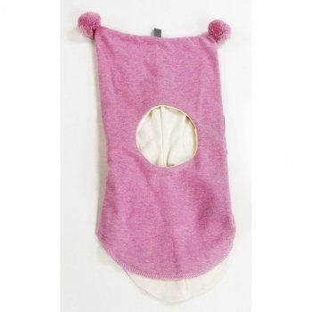 Kivat Шлем (бледно-розовый с помпонами)