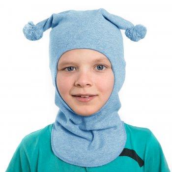 Шлем (голубой с помпонами)Одежда<br>; Размеры в наличии: 0, 1, 2.<br>