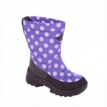 Сапоги Putkivarsi (фиолетовый в горох)Обувь<br>; Размеры в наличии: 27, 28, 29, 30, 31, 32, 33, 34, 35.<br>