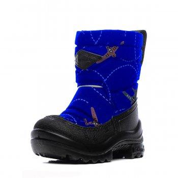 Сапоги Putkivarsi (голубой с самолетами) от Kuoma, арт: 46538 - Обувь