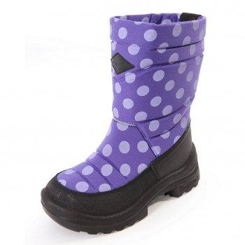 Сапоги Putkivarsi (фиолетовый в горох)Обувь<br>; Размеры в наличии: 20, 21, 22, 23, 24, 25, 26.<br>