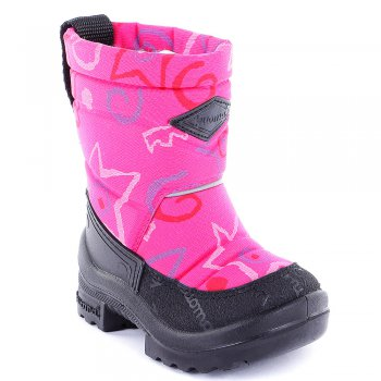 Сапоги Putkivarsi (розовый с принтом) от Kuoma, арт: 41848 - Обувь