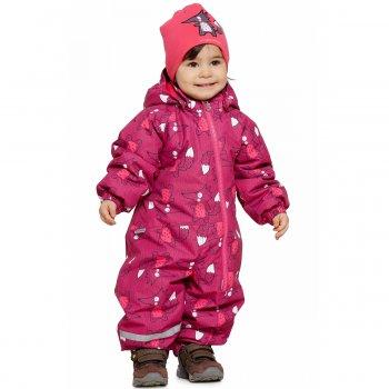 Комбинезон (розовый с лисичками)Комбинезоны<br>; Размеры в наличии: 62, 68, 74, 80, 86, 92.<br>