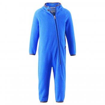 Флисовый комбинезон (голубой)Одежда<br>; Размеры в наличии: 74, 80, 86, 92, 98.<br>