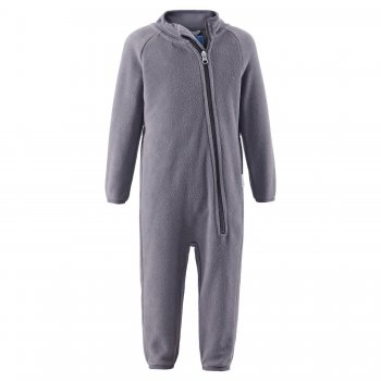 Флисовый комбинезон (серый)Одежда<br>; Размеры в наличии: 74, 80, 86, 92, 98.<br>