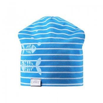 Шапочка (синяя с рыбками)Одежда<br>; Размеры в наличии: XS, S, M.<br>