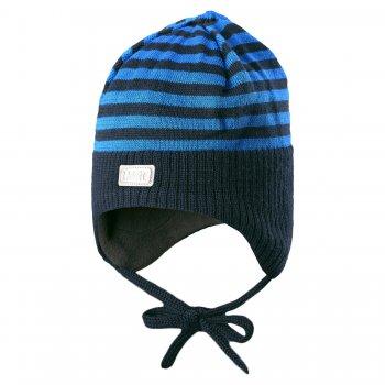 Шапка (синий в полоску с завязками)Одежда<br>; Размеры в наличии: XS, S, M.<br>