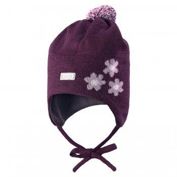 Шапка (фиолетовый с цветами) от Lassie, арт: 35052 - Одежда