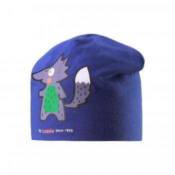 Lassie Шапка (синий с лисичкой) др коффер m 5 232 04 шапка