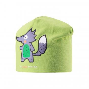 Lassie Шапка (зеленый с лисичкой) уголок детский ушастик зеленый 95 95