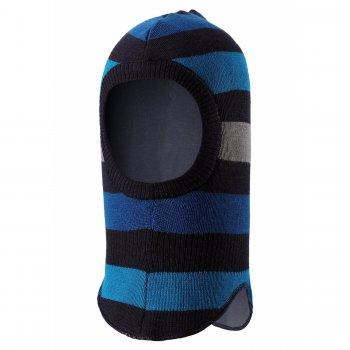 Шлем (синий в полоску)Одежда<br>Материал<br>Верх: 50% шерсть, 50% пан<br>Утеплитель: 40 грамм (100% полиэстер)<br>Подкладка: смесь хлопка и полиэстра<br>Описание<br>Функциональные элементы: <br>Производитель: Lassie (Финляндия)<br>Страна производства: Китай<br>Коллекция: Осень/Зима 2017<br>Модель производится в размерах: XXS-M<br>Температурный режим<br>От +5 до -10 градусов; Размеры в наличии: XS, S, M.<br>