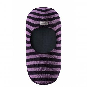 Lassie Шлем (фиолетовый в полоску) lassie шлем розовый в полоску