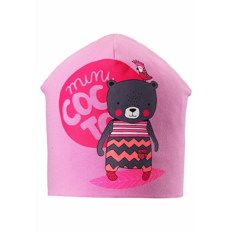 Lassie Шапка (розовый с мишкой) др коффер m 5 232 04 шапка
