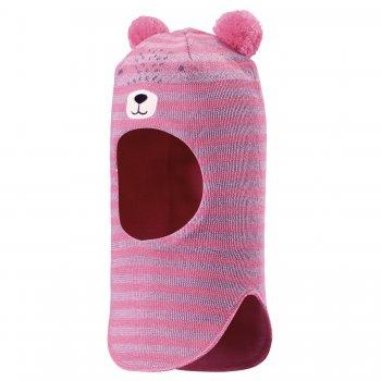 Lassie Шлем (розовый мишка) lassie шлем розовый в полоску