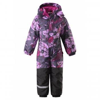 Комбинезон (фиолетовый с цветами) от Lassie, арт: 43845 - Одежда