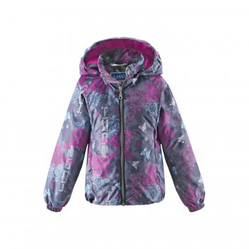 Куртка утепленная (серый с орнаментом) от Lassie, арт: 28917 - Одежда