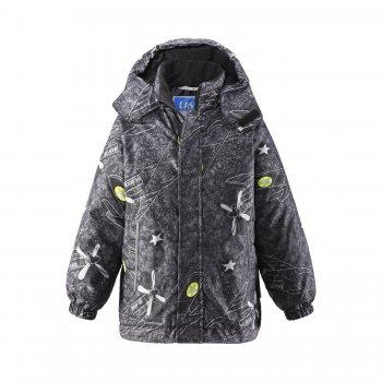 Купить со скидкой Куртка (черный с самолетами)