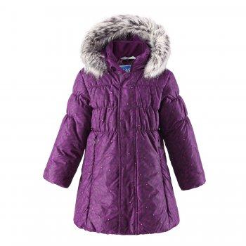Пальто (фиолетовый)Куртки<br>; Размеры в наличии: 92, 98, 104, 110, 116, 122, 128, 134, 140.<br>