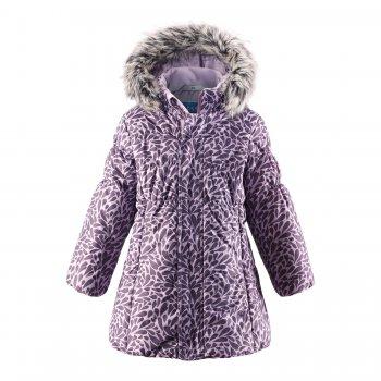 Пальто (сиреневый с принтом)Куртки<br>; Размеры в наличии: 92, 98, 104, 110, 116, 122, 128, 134, 140.<br>