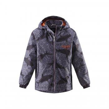 Куртка (темно-серый с акулами)Куртки<br>; Размеры в наличии: 92, 98, 104, 110, 116, 122, 128, 134, 140.<br>