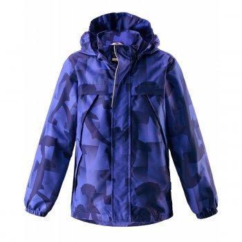 Куртка (синий с принтом)Куртки<br>Материал<br>Верх: 100% полиэстер<br>Утеплитель: без утеплителя<br>Подкладка: 100% полиэстер<br>Водонепроницаемость: 1000 мм<br>Паропроводимость: нет данных<br>Износостойкость: 20000 об.<br>Описание<br>Функциональные элементы: <br>Производитель: Lassie (Финляндия)<br>Страна производства: Китай<br>Коллекция: Весна/Лето 2017<br>Модель производится в размерах: 92-140<br>Температурный режим<br>От 0 градусов и выше; Размеры в наличии: 92, 98, 104, 110, 116, 122, 128, 134, 140.<br>