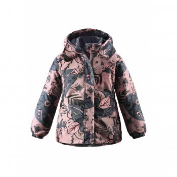 Куртка (пепельная роза)Куртки<br>Описание<br>Яркая зимняя куртка для девочек. Верхняя дышащая и водонепроницаемая ткань, синтетический утеплитель, гладкая подкладка. Куртка обработана грязеотталкивающей пропиткой. Безопасный капюшон на кнопках спереди застегивается на липучку и присобран на резинку, благодаря чему лучше прилегает к голове. Внутренняя поверхность капюшона, воротника и манжетов рукавов выполнены из мягкой ткани для дополнительной защиты от холода. Утяжка по низу куртки и эластичные вставки в области талии улучшают теплоизоляцию. Ветрозащитная планка молнии исключает продувание. Врезные кармашки застегиваются на липучки. Светоотражатели делают ребенка более заметным на дороге в темное время суток.<br>Функциональные элементы: капюшон отстегивается с помощью кнопок, защитная планка молнии на липучке, защита подбородка от защемления, карманы на липучке, манжеты на резинке, светоотражающие элементы. <br>Характеристики<br>Верх: 100% полиэстер<br>Утеплитель: 180 грамм (100% полиэстер)<br>Подкладка: 100% полиэстер<br>Водонепроницаемость: 1000 мм<br>Паропроводимость: 1000 г/м2/24ч<br>Износостойкость: 50000 об.<br>Производитель: Lassie (Финляндия)<br>Страна производства: Китай<br>Коллекция: Осень/Зима 2017<br>Модель производится в размерах: 92-140<br>Температурный режим<br>От +5 до -10 градусов; Размеры в наличии: 92, 98, 104, 110, 116, 122, 128, 134, 140.<br>