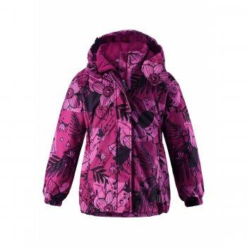 Куртка (розовый с цветами)Куртки<br>; Размеры в наличии: 98, 104, 110, 116, 122, 128, 134, 140.<br>