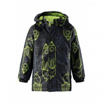 Куртка (серый с ракетами)Куртки<br>; Размеры в наличии: 98, 104, 110, 116, 122, 128, 134, 140.<br>