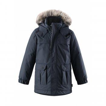 Куртка-парка (серый деним)Куртки<br>; Размеры в наличии: 104, 110, 116, 122, 128, 134, 140.<br>
