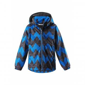 Куртка Softshell (черный с синим)Куртки<br>; Размеры в наличии: 92, 98, 104, 110, 116, 122, 128, 134, 140.<br>