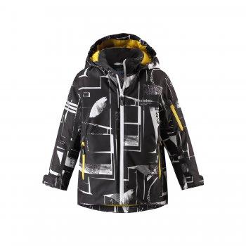 Lassie Куртка (черный с принтом) casall running функциональная куртка черный с принтом