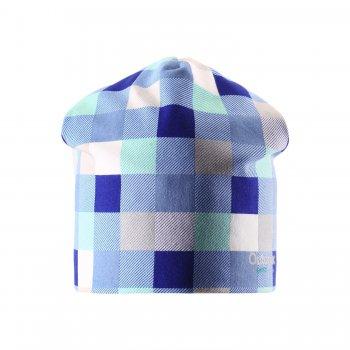 Шапка (голубой в клетку)Одежда<br>; Размеры в наличии: L, M, S.<br>