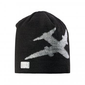 Шапка (черный с самолетом)Одежда<br>; Размеры в наличии: S, M, L.<br>