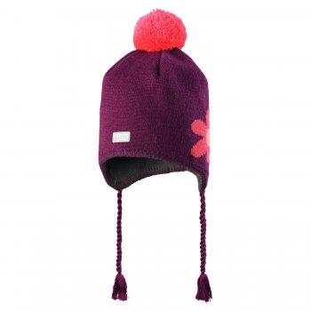 Шапка (фиолетовый с цветком)Одежда<br>; Размеры в наличии: S, M, L.<br>